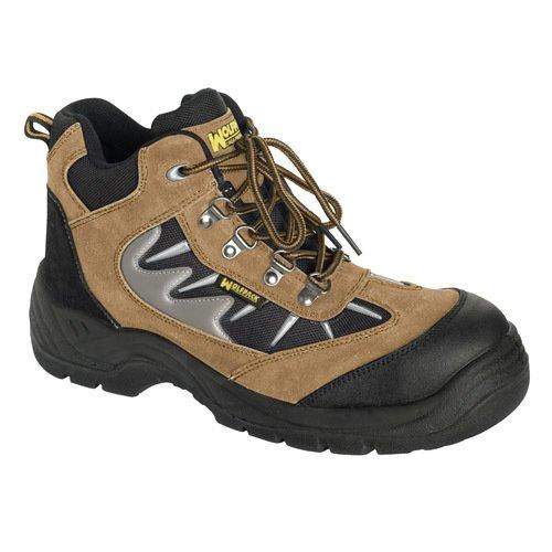 Wolfpack Chaussures de sécurité Marron Taille 42