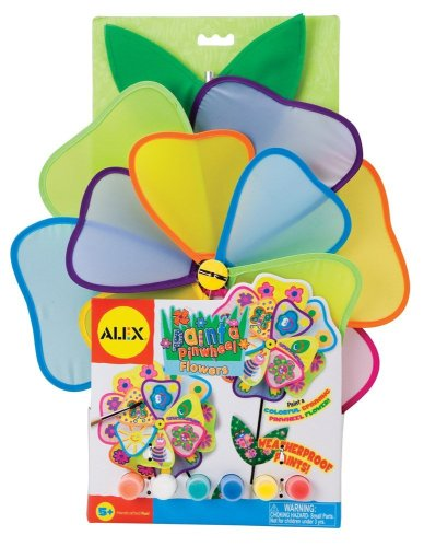 ALEX Toys Craft Paint A Pinwheel -