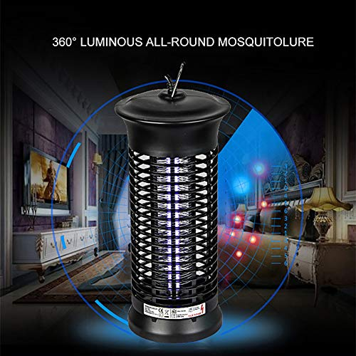 yuye-xthriv Portable UV LED Electronic Mosquito Lamp Home Shop Insect Bug Repellent Zapper *EU Plug