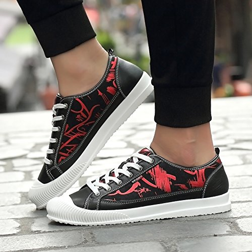 Salabobo QYY-99106 New Mens Casual Comfy Smart Cozy Athletic Walking Driving Shoes Red UK Size7.5 clearance cheap get authentic cheap price explore cheap online best cheap online cheap price HDZ1EtYEI