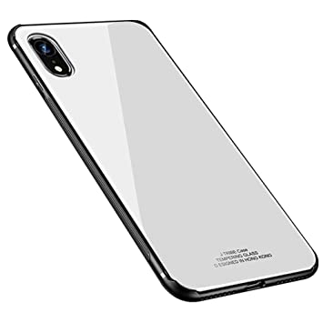 coque iphone xr bumper blanc