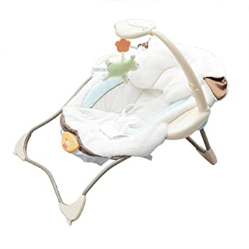 Peachy Amazon Com Little Lamb Infant Seat Baby Rocking Chair Baby Inzonedesignstudio Interior Chair Design Inzonedesignstudiocom