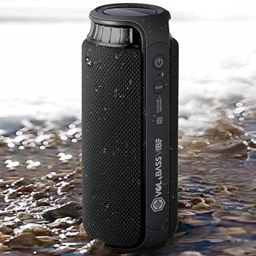 VOLUME & BASS LOUD 24W WIRELESS BLUETOOTH SPEAKERS Waterproof Best Rated Hi-Fi (Auto Tune 5 Review)