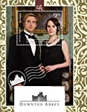 Downton Abbey - Lady Mary & Matthew Crawley - BBC Television Drama - Beautiful Collectors Stamps - Tuvalu