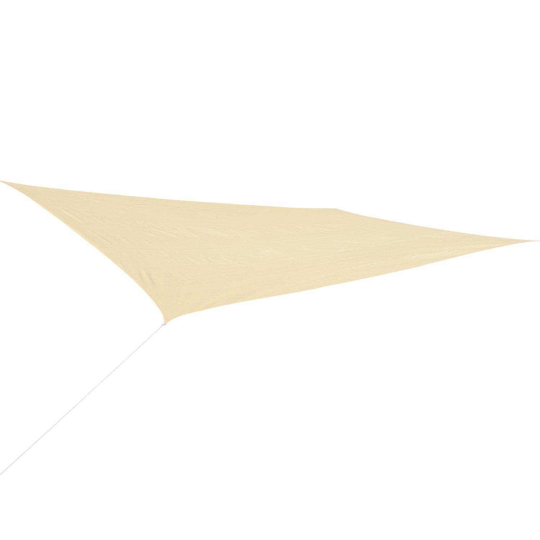 Corasol COR10RE4X3-SB Premium Sonnensegel, 4 x 3 m, rechteckig, Wind- & wasserdurchlässig, sandbeige