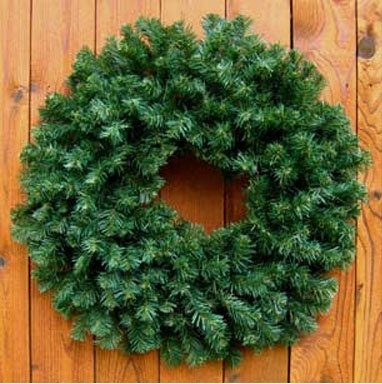 (30 inch Princess Pine Mixed Needle Christmas Holiday Wreaths)
