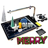 ROY-ROJAS Hot Wire Foam Cutter Machine,Adjustable Temperature up to 300℃/572F,24W 3D Foam Cutter, Styrofoam Cutter,23'x 15' Table Foam Circle Cutter,for Foam Carving Modeling and Crafts DIY
