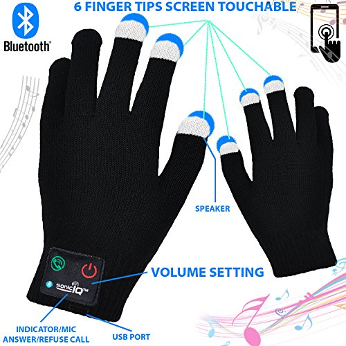 Review Bluetooth Touchscreen Gloves Men