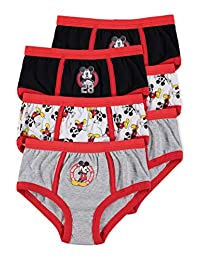 Disney Mickey Mouse Boys Underwear | Briefs 6-Pack Size 3T