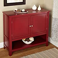 Modern Red Montego Buffet