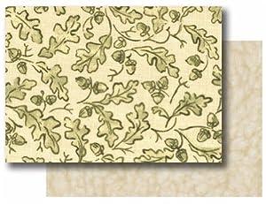 B0042RUIB80EM AlphaPooch Sleeper Pet Blanket, Green Leaf Fabric with Fleece, Medium