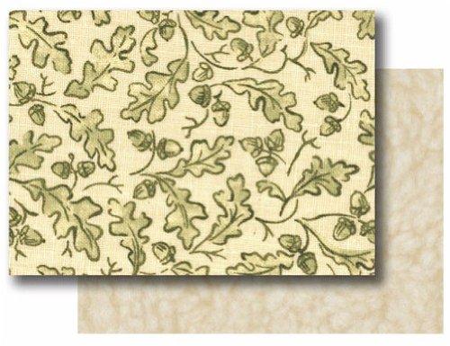 AlphaPooch Sleeper Pet Blanket, Green Leaf Fabric with Fleece, Small by AlphaPooch