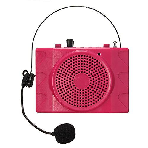 [Voice Amplifier, ELEGIANT Rechargeable 38W Loudspeakers Amplifier with A Strap and A Comfortable Waist Hanging Microphone for Tour Guides, Teachers, Coaches, Presentations, Costumes, Etc. -] (Three Group Costumes)