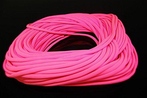 Blacklight Glo-Line Luminescent Roping (Pink, 100 Feet) -