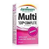 Best Multivitamins For Women - Jamieson 100% Complete Multivitamin for Women Review