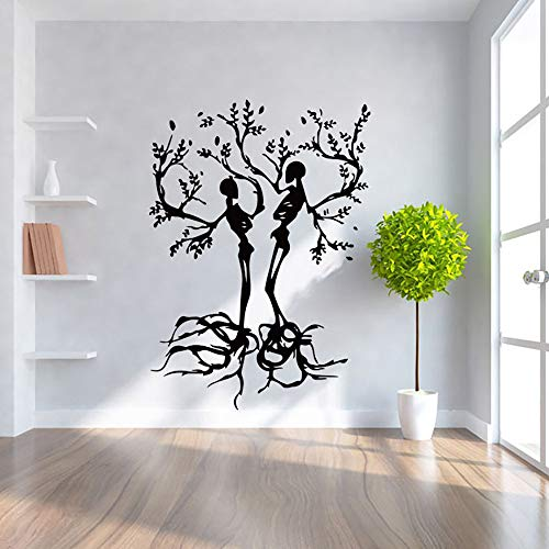 OTTATAT Wall Stickers For Bedroom Boys 2019,Happy Halloween Home Household Room Mural Decor Decal Removable New Easy to peel Birthday Children room Gift for bride Under 5 dollars]()