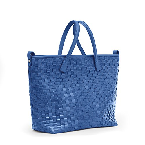 French Chess Blue Two Midi Tote Gretchen FWwqaIYY