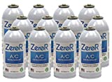 ZeroR AC Refrigerant 12 Cans - Better Than R134a - Made in USA - Natural Non Ozone Depleting
