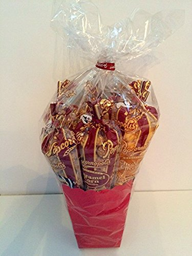 Popcornopolis Best of Popcornopolis Gift Basket - 8 cones gift pack