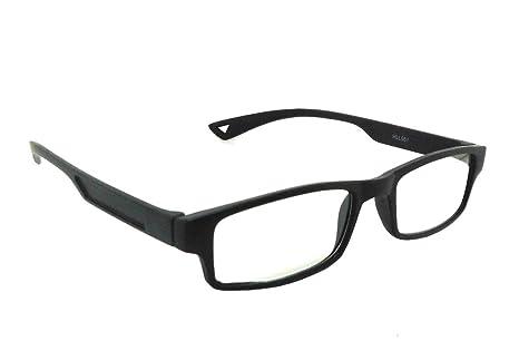 f22c2b179137 AR Eyewar Plastic Power Reading Unisex Black Glasses (HLL861-BLK ...