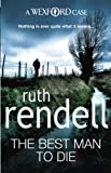 Front cover for the book The Best Man to Die by Ruth Rendell