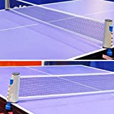 Zkung Sports Retractable Ping Pong Net, Portable