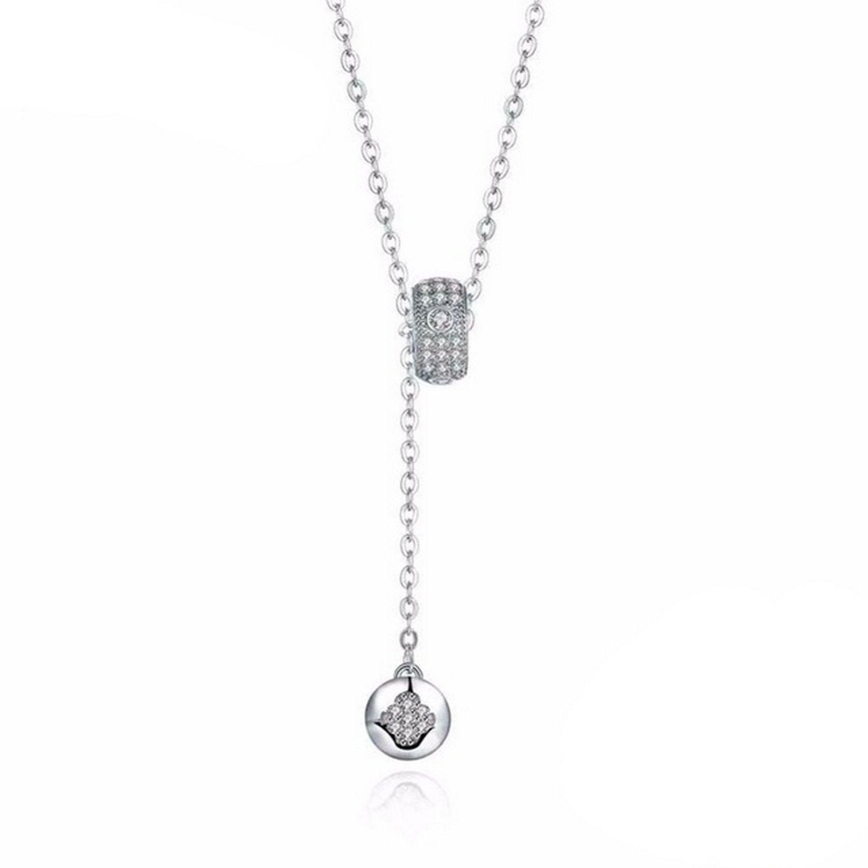 CS-DB Pendants Party Silver Necklaces
