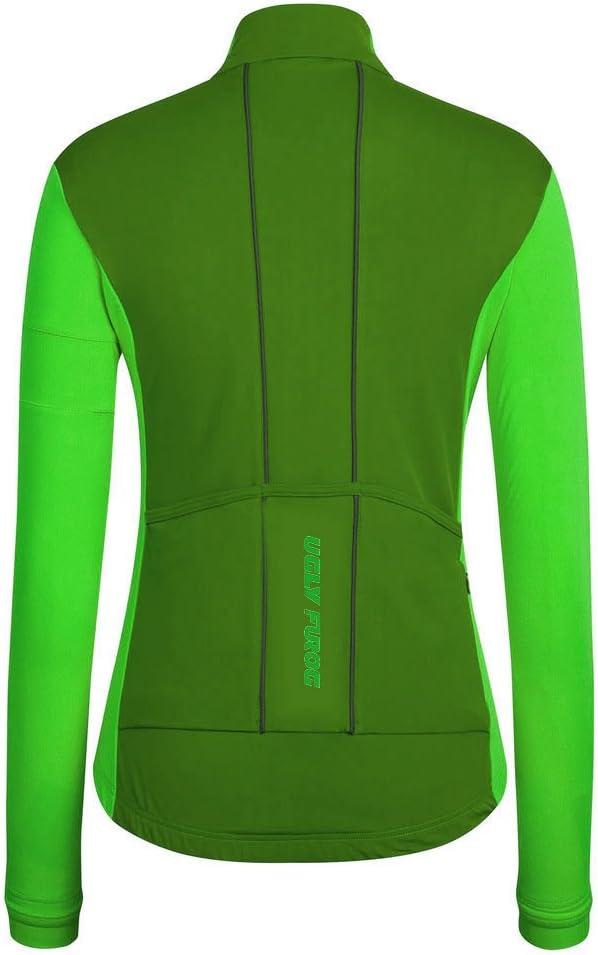 Uglyfrog 2016 Newest Women Sports Wear Outdoor Sports Long Sleeve Cycling Jersey Winter Thermal Fleece Bike Bicycle Top swxw1
