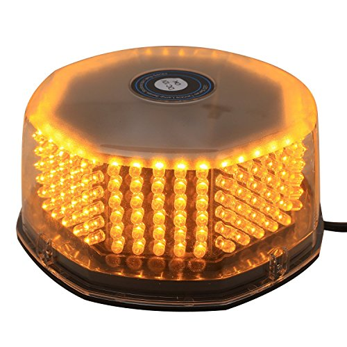 XKTTSUEERCRR NEW Bright 240 LED Truck Vehicle Car Roof Top Flash Strobe Emergency Warning Hazard Warning Light Yellow Amber