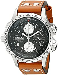 Men's H77616533 Khaki X Chronograph Watch
