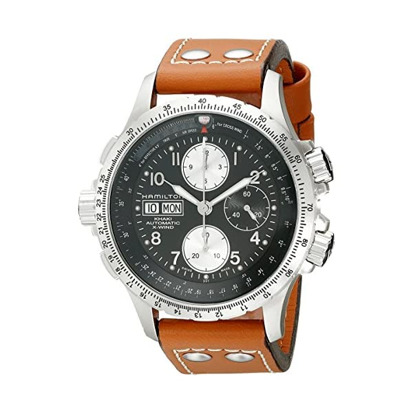 Hamilton-Mens-H77616533-Khaki-Dial-color-Black-X-Chronograph-Watch