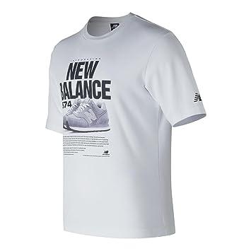 new balance t shirt herren rot