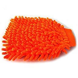 Car Wash Mitt-double Stitched Microfiber Mitten for the Best Car Wash Equipment