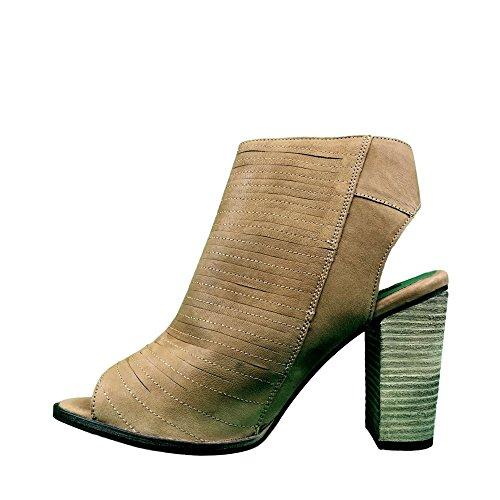 Superdry , Baskets mode pour femme marron marron peau