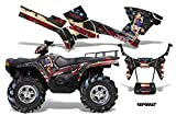 AMRRACING Polaris Sportsman 800/500 2005-2009 Full Custom ATV Graphics Decal Kit - WW2