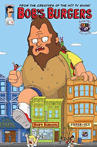 Bob's Burgers #1 Super-Fly Comics & Games Store Exclusive Variant Cover - Exclusive Variant Cover