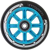 Blazer Pro Vertigo Swirl Aluminium Core Scooter Wheel x1 100mm. Purple//Pink Swirl