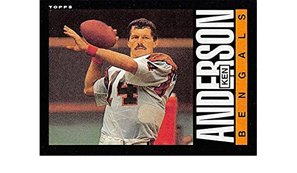 b5bbf8176 Amazon.com  Football NFL 1985 Topps  210 Ken Anderson  210 EX Bengals   Collectibles   Fine Art
