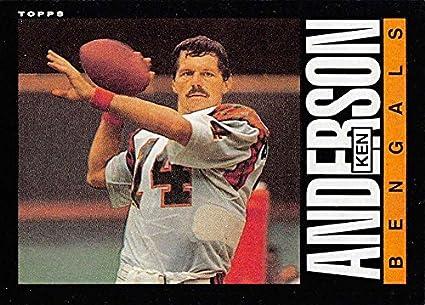 cc2e2b76d Amazon.com  Football NFL 1985 Topps  210 Ken Anderson  210 EX ...