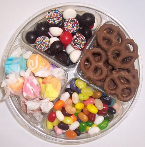 Scott's Cakes 4-Pack Nougat Taffy, Licorice Mix, Assorted Jelly Beans, & Chocolate Pretzels by Scott's Cakes