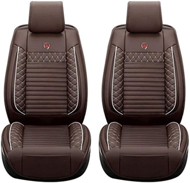Car Seat Covers for Mazda CX-7 5seat Full Set Seat Protector Artificial Leather,Front /& Rear Set Universal Beige