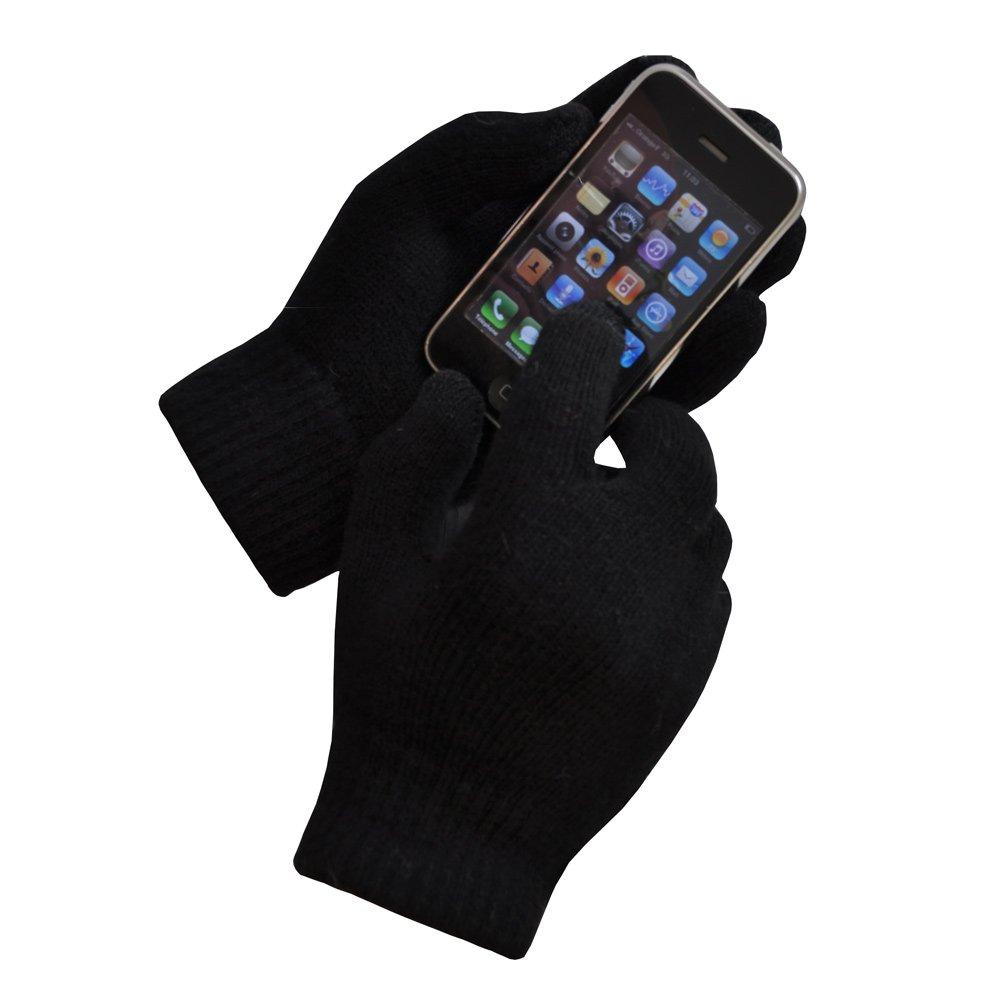 10 dita Samsung e Touch Screen Smartphone Guanti Tattili DI LANA Foderati per iPhone TOUTACOO