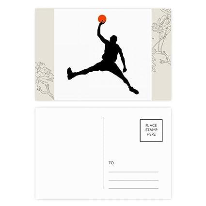 DIYthinker Mate de baloncesto Baloncesto Correr flor ...
