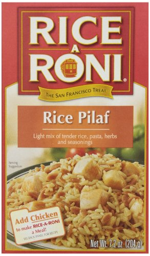 Rice-a-Roni Pilaf Rice Mix, 7.2-Ounce (Pack of 12)