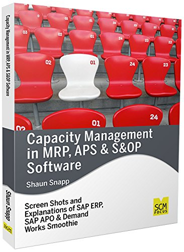 Capacity Management in MRP, APS & S&OP Software - Mrp Software
