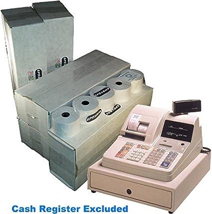 eposbits® marca rollos para Casio CE-3700 CE3700 caja registradora (100 rollos): Amazon.es: Oficina y papelería