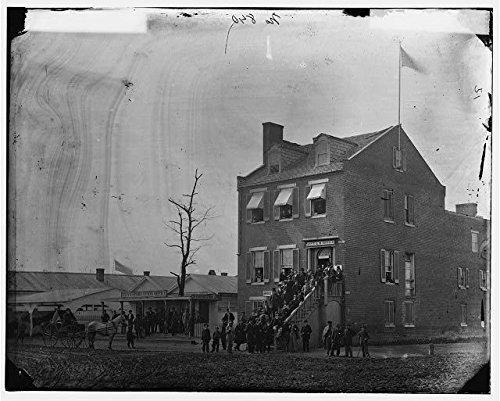 Photo  American Civil War Washington Dc Quartermasters Officer Charles H  Tompkins