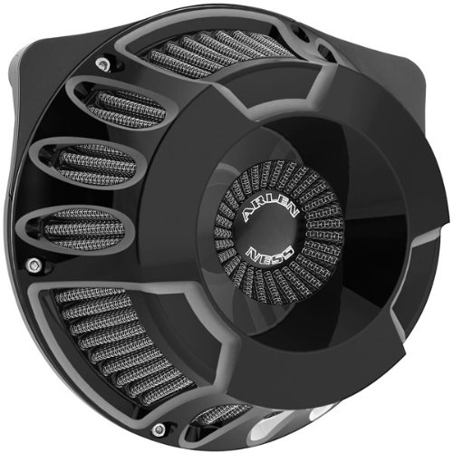 Arlen Ness 18-931 Black Inverted Series Air Cleaner Kit