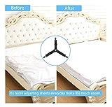 KALLC Bed Sheet Holder Straps, 4 Pack Adjustable