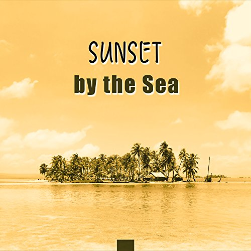 (Sunset by the Sea - Glowing Sand, Reflections in the Water, Last Rays, Romantic Mood)